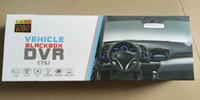 video dash car оптовых-Зеркало заднего вида двухканальный рекордер 1080P зеркало заднего вида камеры автомобильный видеорегистратор Full HD цифровой видеомагнитофон с двумя камерами Auto Dash Cam