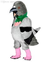 Wholesale Parrot Halloween Costume - Wholesale-BIRD parrot Mascot Mascot Costume mascot costumes for adults christmas Halloween Outfit Fancy Dress Suit Free Shipping