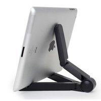 ingrosso treppiedi per tablet pc-Supporto pieghevole universale regolabile pieghevole Supporto per tablet portatile Supporto per treppiede per iPhone Samsung iPad Mini Tablet PC Stand