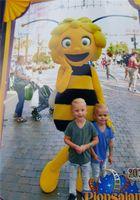 ingrosso abiti di bee-Maya Il costume della mascotte delle api per il vestito operato adulta che spedice liberamente