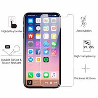 Wholesale Packaging For Stylus - Mix Models ZTE Zmax pro 9H Glass Screen Protector For iPhone X 8 7 6s Plus Galaxy S7 Grand Prime G530 LG K7 LS770 LS775 Stylus 2 no package
