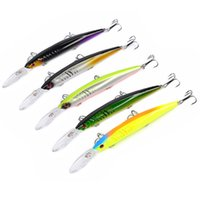 Wholesale artificial fishing lures for sale - 5 color cm g Hard plastic lures fishing hooks D Minnow Fishing baits Hook Artificial Pesca Tackle Accessories