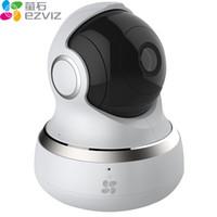 Wholesale High Definition Internet - Fluorite (EZVIZ) C6, Internet Yuntai, network camera, high-definition night vision, home smart wireless WIFI surveillance camera, C6 white (