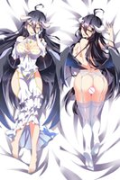 Wholesale Anime Bedding Sets - Wholesale- Pillow Case Japan Anime Pillow Home Decorative Hugging Body Fantasy Two Side Pillow Cover Case bedding set
