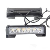 12LED 12W 12V Strobe Warning Light Bar Trailer Marker Tagfahrlicht Amber Red Blue Led Polizei Notdach Licht
