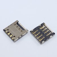 cartão sim zte venda por atacado-Atacado-2pcs / lot 100% novo slot para leitor de cartão sim suporte de soquete bandeja para ZTE nubia Z7 MAX NX505J frete grátis