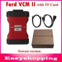 Wholesale Oem Vcm Ii - Ford VCM II IDS V86 OEM Level Diagnostic Tool support 2014 ford vehicles FORD VCM 2 OBD2 Scanner FORD IDS VCM2 full chip with TF Card