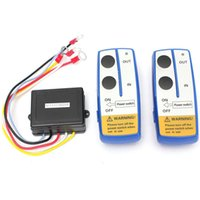 Wholesale Wholesale Winch - Brand New High Quality 3pcs Set Wireless Winch Remote Control Twin Handset 12 Vol Two Matched Transmitters Easy Install H210530