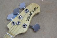 Wholesale Guitar Music Beginners - Free Shipping !! Hot Sale High Quality Ernie Ball Musicman Music Man Sting Ray 4 Strings Green Electric Bass Guitar