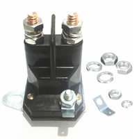 Wholesale 12v Solenoid - 1pc 3 Terminals Starter Solenoid Relay 12V Contactor Switch Replace For MTD Lawnmower