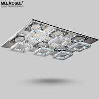 Wholesale Mounting For Diamond Pendant - Modern LED Diamond Crystal Ceiling Light Fitting Crystal Lamp for Hallway Corridor Fast Shipping Flush Mount LED diamond light MD88060