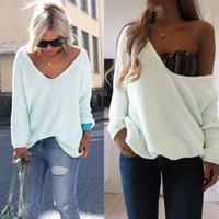ingrosso maglioni delle donne oversize-All'ingrosso-Maglia da donna oversize con maglione oversize in maglina lavorato a maglia