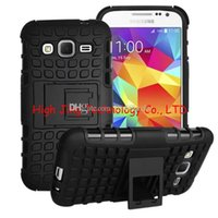 Wholesale Galaxy Young Cases - Hybrid Rugged Impact Rubber Matte Robot Heavy Hard Case for Samsung galaxy Core Prime G360 Grand Prime G530 Young 2 G130