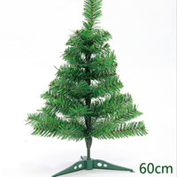 Wholesale S Mini Inch - Mini christmas trees 60cm 23.6 inch christmas tree decoration for home and office decoration free shipping CT004
