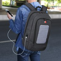 Wholesale Backpack Solar Panel - Solar panel charging backpack multifunctional USB large capacity