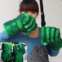 muhteşem peluş figürler toptan satış-Hulk Eldiven Şekil Smash Eller Peluş delme Boks Tipi Yumruk Yaklaşık 30cm / 12