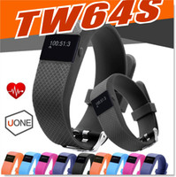 Wholesale Ios Upgrade - JW86 TW64S Smart Bracelet Fitness Heart Rate Smart band Wristband Tracker Bluetooth 4.0 Watch for ios android TW64 upgraded version