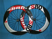 Wholesale Carbon Bike Wheel Sram Hub - Sram s80 88mm full carbon carbon wheels UD matt finish clincher bike wheels with ceramic bearing hubs freeshipping