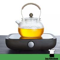 Wholesale Electromagnetic Stove - 220v Electric pottery tea boiler home glass teapot non-electromagnetic electric mini tea pot tea cooking stove