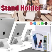 Wholesale Mixing Desks - Universal Portable Adjust Angle Stand Holder Colorful Flexible Desk Phone Holder Support Bracket Mount For Tablet iPad Mobile Phone With Box