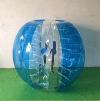 Wholesale Zorb Soccer Balls - 1.2m Inflatable Human Hamster Ball For kids Bubble Soccer Ball Zorb Balloon Bumper Ball
