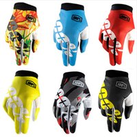 Wholesale Motocross Tld - 2017 new Motocross 100 Percent Ridefit AM Bike Gloves MTB Mountain Bike Moto Motorcycle TLD DH Cycling Bicycle 100% Gloves