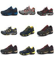 Wholesale Mountain Fabric - Waterproof Hiking Shoes Mountain Climbing Shoes Outdoor Hiking Boots Trekking Brand Black Sport Sneakers Men Hunting Trekking
