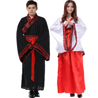 Wholesale new hanfu Ancient costume hanfu Women s and men s clothing Tang suit costumes