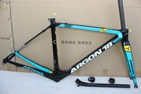 Wholesale Red Racing Seats - 2017 Newest Astana ar gon 18 Carbon Frame UD Road Bicycle Frame Racing Bike Frame+Fork+Seat Post+Headset+Brakes+BB Adapter Size XS,S,M,L