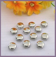 Wholesale Silver Studs For Clothing - Wholesale 400 pcs Punk 10mm Silver Round Studs Spots Spikes rivets and studs Rivets for handbag  Leather  Clothes Belt lywj-013