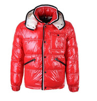 Wholesale France Down Jackets - NEW Classic France brand Men Casual shiny Down Jacket Down Coats Mens Outdoor Warm Feather dress Winter Coat outwear jackets
