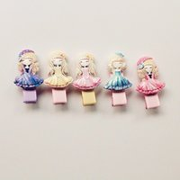 Wholesale Cheap Grass - New 2016 Plastic Hair Clips for Baby Girls Wholesale Cheap Hotsale Princess Girls Acrylic Barrettes Baby Hairpin Free Shipping