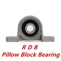 Wholesale Shaft Block Bearing - Wholesale- new KP004 k004 p004 20mm kirksite bearing insert bearing shaft support zinc alloy mounted bearings pillow block