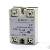 40A ssr controls - SSR A Single phase AC solid state relay solid state voltage regulator DC control AC Zero voltage turn on