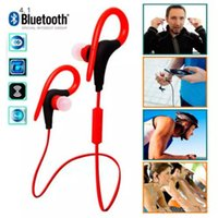Wholesale White Tour Headphones - with retail package bt1 BT-1 Tour Earphone Bluetooth Sport headphone Stereo Over-Ear Wireless Neckband Headset with Mic for Cellphone