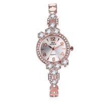 Wholesale Elegant Wrist Watch - Women Vintage Watches Brand SOXY Elegant Luxury Quartz Fashion circular Dial Watch Carved Patterns Bracelet Casual Wrist Watches Wholesale