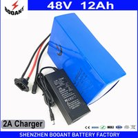 Wholesale Li Ion Bms - BOOANT powerfull 1000W 48V 12AH E-Bike Li-ion Battery pack for Bafang Motor Free customs to US EU with 2A Charger 30A BMS
