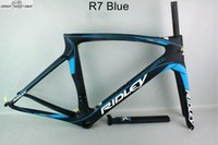 Wholesale painting roads for sale - Group buy Fashionable carbon road bicycle blue DCRF09 matte finished pf30 Chinese Cheaper durable carbon bike frame accept customized paint job