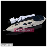 Wholesale Instruments For Massage - 2016 New acupuncture meridian pen Electronic massage acupuncture pen point massage instrument for hole equipment