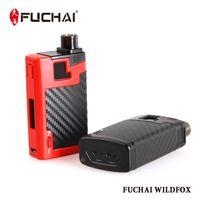 Wholesale Black Magic Power - 100% Original Sigelei Fuchai Wildfox 40W E-cigarette Vape Mod Box Kit 6.0ml Atomizer Tank Cartridge Magic Box Power Mod Vapor Vaporize