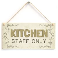 Meijiafei Kitchen Staff Only - Beautiful Home Accessory Gift Sign cucina parete segno decor placca 10