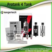 Wholesale kanger protank pro - Authentic Kangertech Protank 4 Atomier Kanger Pro tank 4 Tank Evolved Velocity Rebuildable RBA Deck Dual Clapton Coil MTL DL Inhale 2211065