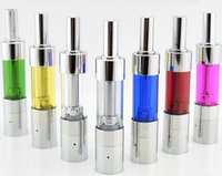 Wholesale Detachable Dripping - Mini ProTank 3 III Atomizer Metal Drip Tip Detachable Tank Colorful Clearomizer Replaceable Wick for eGo Electronic Cigarette battery DHL