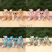 Wholesale Resin Boy Ornament - New styles! 10 Pack  90 Pcs 5 color Chi's Sweet Home charm ornament toy, phone charm mobile pendant Keychains squishy Strap 2140