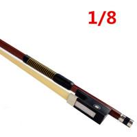 Wholesale Horse Hair Bow - High quality violin bow size 1 8 violino Horse hair violin accessory brazilwood bow accessories para violino