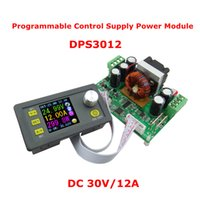 Wholesale Digital Supply Voltage - DPS3012 DC30V 12A Step-down Programmable control Power Supply module buck Voltage converter Constant Voltage current color LCD voltmeter