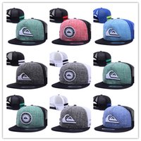 Wholesale Cheap Cotton Netting - Top Selling cheap hot Unisex net baseball cap swag cap Casual Outdoor Sport snapback hat for Men cap women gorra casquette Wholesale free
