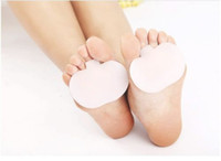 Wholesale Toe Separator Pads - 10 X Pair Silicone Metatarsal Ball Toe Gel Pad Separators Forefoot Foot Pads Shoes Insoles Pain Relief Care