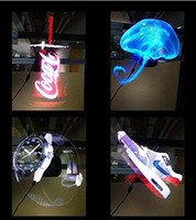 Wholesale Advertising Cards - 3D Hologram LED Fan, Projected Fan Naked Eye 3D Effect for Advertising Display Party Sign