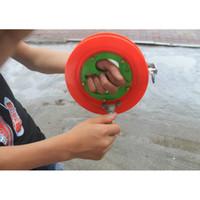 ruedas de carrete de pesca al por mayor-Super duro ABS 18CM Carrete de pesca para Big Fish Grip Rueda de mano Kite String Line Aparejos de pesca y accesorios